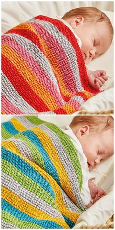 Free Knitting Pattern: Ollie and Polly Blankets by Jem Weston from The Knitted N . Free Knitting Pattern: Ollie and Polly Blankets by Jem Weston from the Knitted Nursery Collection: 14 cuddly toys and colorful accessories for babies .