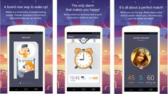 Would a wake-up call from a complete stranger be able to get you out of bed? This interesting app sure thinks so....