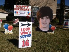 16th Birthday Boy Idea #Fun #idea #16