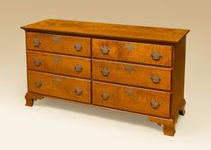 Historical Meredith Dresser made out of Tiger Maple Wood.
