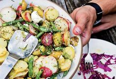 This is not your mom's potato salad recipe. It's better. And we couldn't be more okay with that.