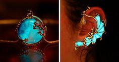 Glow-In-The-Dark-Jewelry That Will Make You Feel Magical | Bored Panda