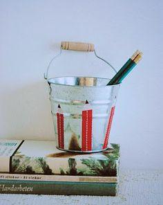 Washi Tape Kids room / cuarto de niños bucket ~ washi tape