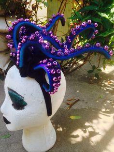 Ursula headpiece / Ursula headband / Ursula Costume / by NKCosplay