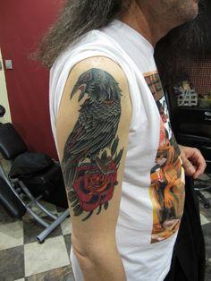 old school crow