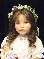 Elise an Art Doll by Julie Fischer