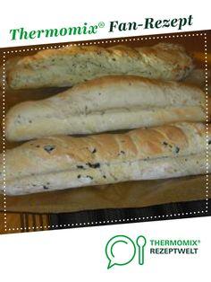 """Baguette (Brötchen) """"Mittelmeer"""" á la Mixi-Hexe von Mixi-Hexe. Ein Thermomix ® Rezept aus der Kategorie Brot & Brötchen auf www.rezeptwelt.de, der Thermomix ® Community."""