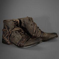 John Varvatos Limited Edition X-Lace Boot - The Shoe Buff - Men's Contemporary Shoes and Footwear Burberry Men, Gucci Men, Hermes Men, Versace Men, Me Too Shoes, Men's Shoes, Shoe Boots, Shoe Story, Mens Boots Fashion