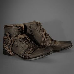 John Varvatos X-Lace boot
