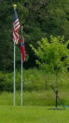 American and Confederate