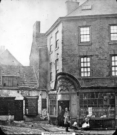 Montgomery Tavern, originally Iris Office, No. Sheffield Pubs, Sources Of Iron, Industrial Development, South Yorkshire, Derbyshire, Old Photos, Rome, Old Things, Street View