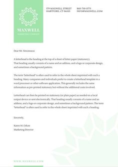 real estate letterhead template real estate letterheads