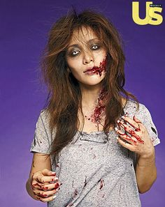 Michelle Phan Creates The Walking Dead Zombie Makeup for Halloween - Us Weekly| Be Inspirational❥|Mz. Manerz: Being well dressed is a beautiful form of confidence, happiness & politeness