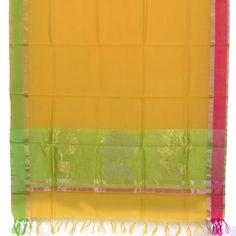 Marm Handwoven Chanderi Silk Cotton Dupatta 10000681 - AVISHYA.COM