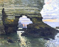 Port d `Amount Etretat - Claude Monet