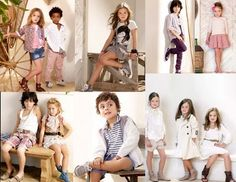 Little Stylish Looks for Spring poses