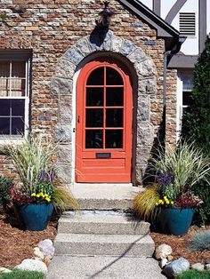 Redo Your Front Door  A new front door (or just a fresh coat of paint on the existing one) adds immediate appeal to your home's facade. Weigh pros and cons of leading materials such as wood, vinyl, fiberglass, and metal and pick one to suit your home and budget