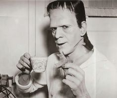 Even Frankenstein's Monster Enjoys Tea n' Toast