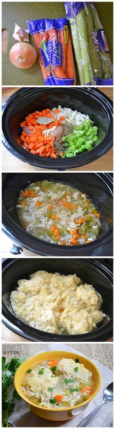 Slow Cooker Chicken & Dumplings - Latest Food