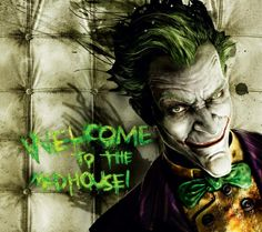 Welcome To The Mad House Facebook Covers Facebook Cover Batman Joker Wallpaper Joker Wallpapers