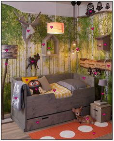 Great Ideas for Kids Nature Room Wall Murals Painting