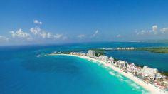 Zona hotelera de Cancun, Mexico