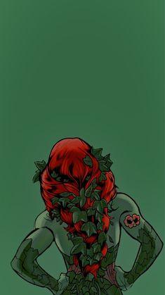 Poison Ivy Comic, Poison Ivy Batman, Dc Comics Art, Marvel Comics, Hera, Harley Quinn Comic, Character Wallpaper, Gotham City, Comic Art