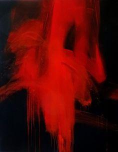 """""""Red Rain 2""""  - visible à la Galerie SALAMONE à Aigues-Mortes"""