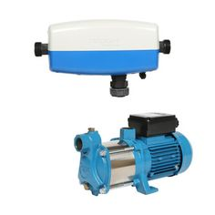 MT-43W Auto Wiwo Water Switch Pressure Pump - IDEAL FOR: Clean or rainwater in a 3 to 4 storey dwelling or similar with up to 7.5 taps or outlets. This pump will automatically start up when a tap is opened and will turn off again with a slight delay after the tap has closed. It can be used for drinking water, filling up toilets, washing machines, dishwashers, kitchen taps, showers, irrigation systems or watering the garden. - $972