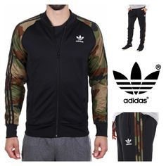 ADIDAS SELECTION FOR MEN ?? Superstar Originals Track Jacket \u0026 Cuffed Sweat  Pants Camo Shop Now