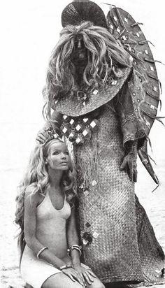 Verushka 1960s/70s vintage fashion & beauty