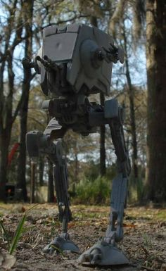 "Ertl's ""Star Wars"" AT-ST. It's ""approximately"" 1/48 scale."