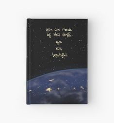 "'""You Are Made of Star Stuff""' Hardcover Journal by thelatestkate You Are Beautiful, Art Boards, Mental Health, Iphone Cases, Canvas Prints, Journal, Stars, Artist, Artwork"