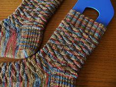 Ravelry: Neville's Socks pattern by Erica Lueder Knitting Humor, Knitting Socks, Hand Knitting, Knit Socks, Knitting Videos, Knitting Projects, Lace Patterns, Knitting Patterns Free, Free Pattern