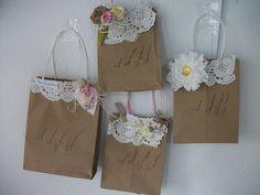 enfeites para sacolas de tecido - Pesquisa Google