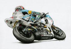 Kevin Schwantz 2013 Suzuka 8 Hour Endurance 2013 by on DeviantArt Bristol Board, Valentino Rossi, Super Bikes, Big Challenge, Motogp, Traditional Art, Harley Davidson, Art Drawings, Technical Drawings