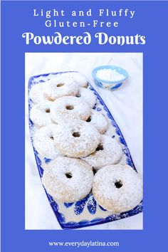 Light and Fluffy Gluten-Free Powdered Donuts - Everyday Latina