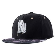 9d51cf627d412 Fashion Cool Solid Palm Snapback Hat Hip Hop Hat Snapback Cap For Men Women  Casual Baseball