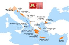 Republic of Venice and its colonies.