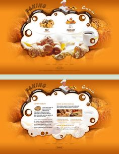 Bakery - web design by VictoryDesign.deviantart.com on @deviantART: It's incredibly cute and a lovely design. It incorporates modern thinking without being unusable.