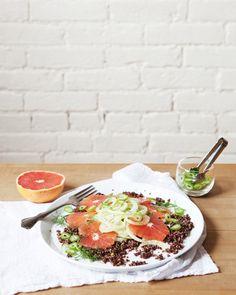 Superfood Recipes: Grapefruit, Fennel,  Quinoa Salad
