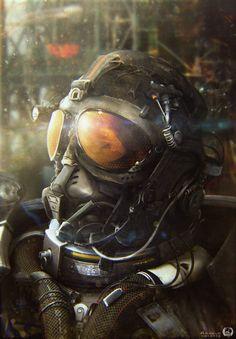 Awesome Sci-Fi Geek Art from Arnaud Valette - TheEngineer - News - GeekTyrant