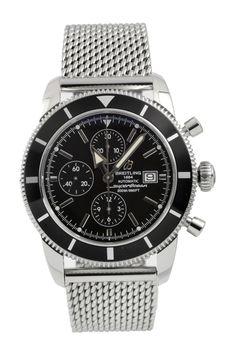 Breitling Men's Superocean Heritage Chronograph Stainless Steel Watch on HauteLook