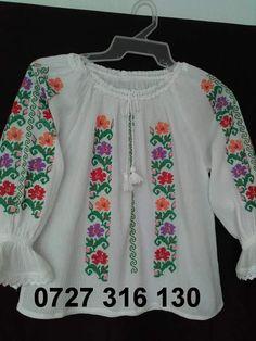WhatsApp Image at Cross Stitch Charts, Cross Stitch Designs, Shirt Embroidery, Latest Dress, Sari, Graphic Sweatshirt, Costumes, Sweatshirts, Crochet