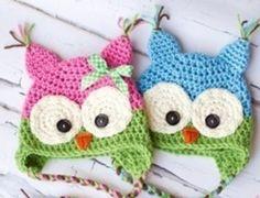 "Photo Props Baby Hat ""Owl"" de kokora17 por DaWanda.com"