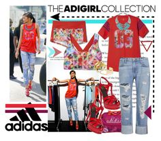 """""""Show Off Your adiGIRL Style: Contest Entry"""" by bamaannie ❤ liked on Polyvore featuring adidas, Frame Denim, Sole Society, Hervé Van Der Straeten, zendaya, contestentry and adigirl"""
