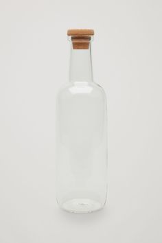 COS image 1 of HAY Small Glass Bottle in Transparent