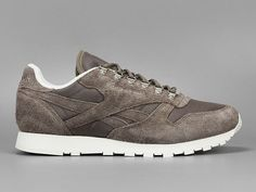 Reebok Classic Leather CTL - clif stone/chalk : Cheap Sneakers And Clothing