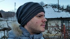 Check out this item in my Etsy shop https://www.etsy.com/listing/262032150/men-knit-grey-slouchy-hat-winter