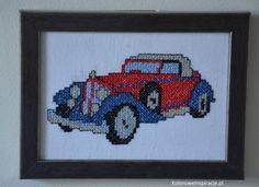 haft-krzyzykowy-trzy-stare-samochody-samochod-1